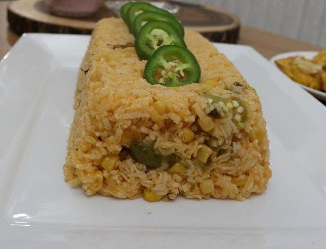 Spicy Corn Rice