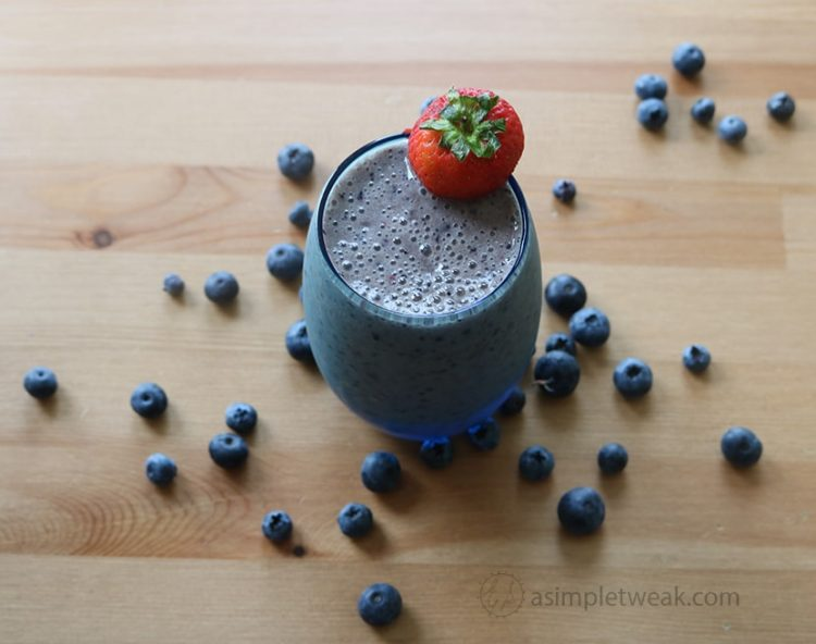 Healthy Blueberry Smoothie Recipe