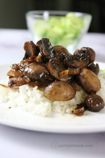 Mushroom in Adobo Sauce (Filipino-style)