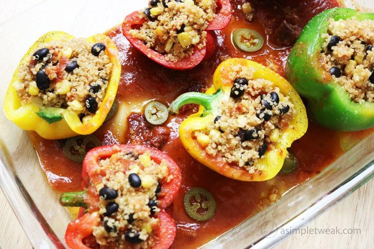 Easy-stuffed-bell-peppers-recipe