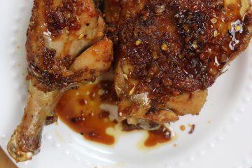 Honey-Garlic-Glazed-Chicken-Leg-Quarter-Recipe