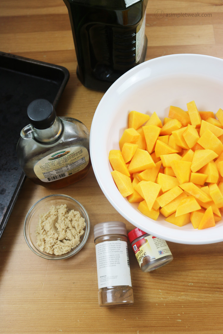 Simple-Ingredients-for-Roasted-Butternut-Squash-Recipe