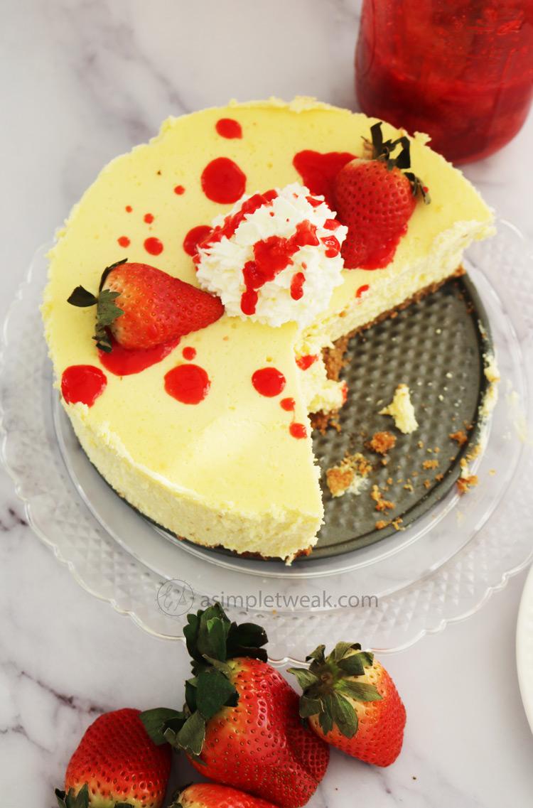 How-to-make-strawberry-cheesecake