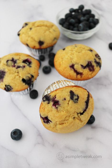 Homemade-Blueberry-Cupcakes