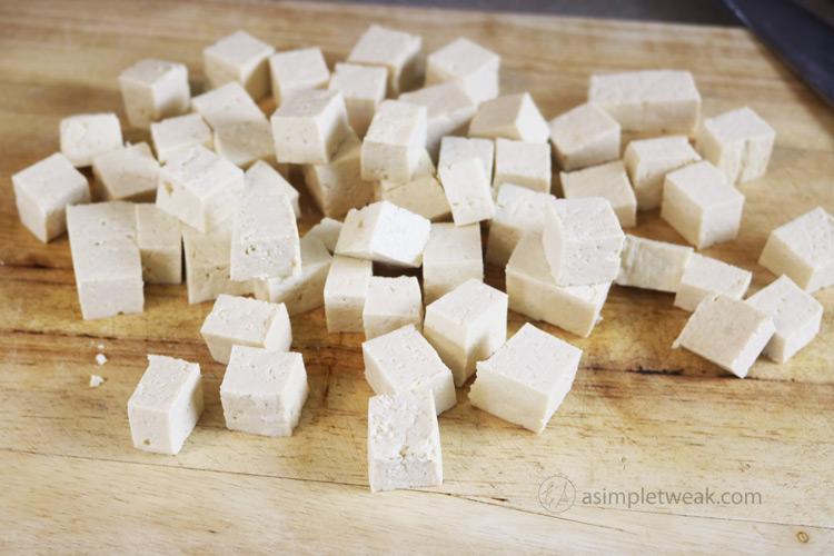 Cubed-Tofu