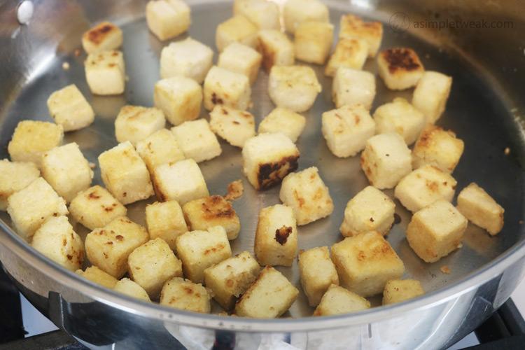 Pan-fry tofu