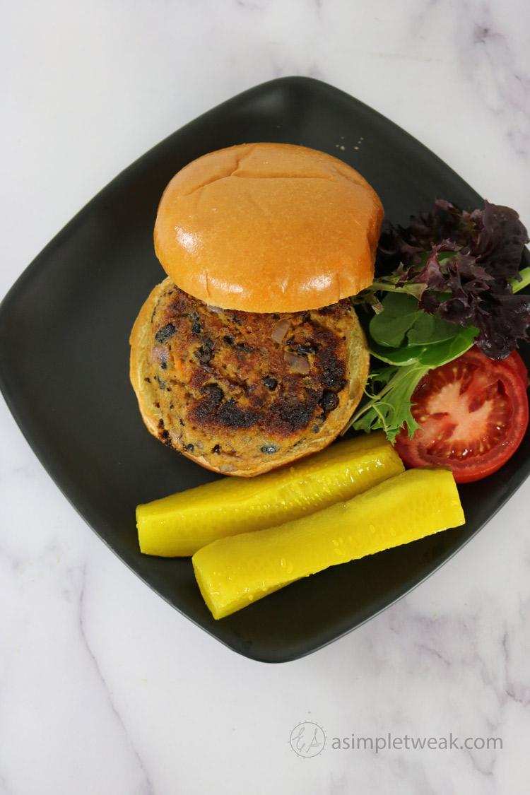 easy-to-make-veggie-burger