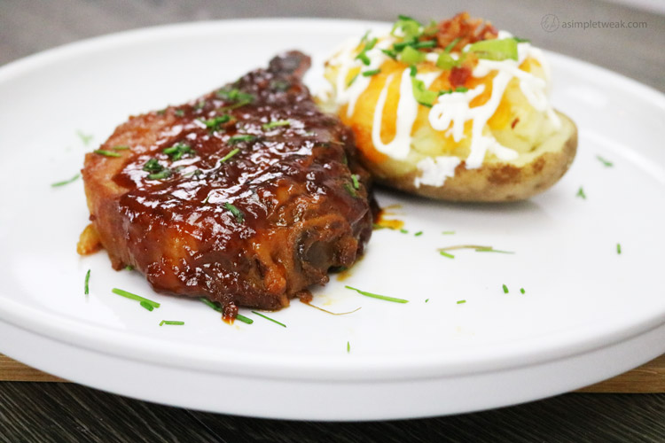 I love this pork chop recipe because it is easy to put together, Just Toss & Go. Let the slow cooker do all the hard work!